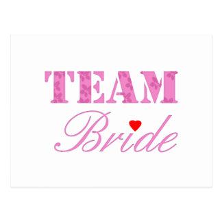 Team Bride Theme Postcards