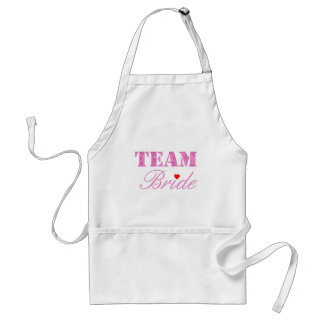 Team Bride Theme Standard Apron