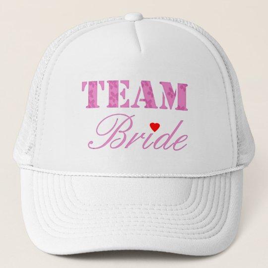 Team Bride Theme Trucker Hat