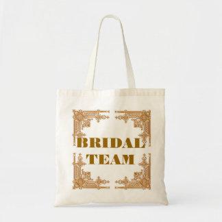 TEAM BRIDE TOTE BAGS