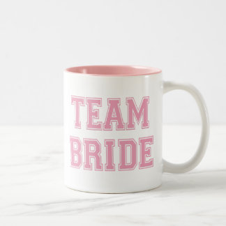 Team Bride Two-Tone Coffee Mug