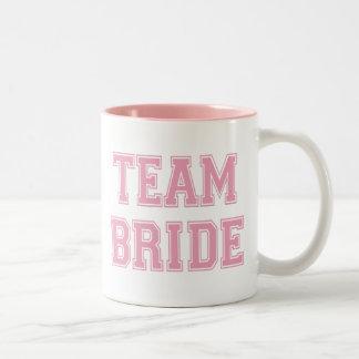 Team Bride Two-Tone Mug
