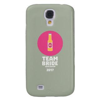 Team bride Vancouver 2017 Henparty Zkj6h Galaxy S4 Case