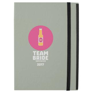 "Team bride Vancouver 2017 Henparty Zkj6h iPad Pro 12.9"" Case"