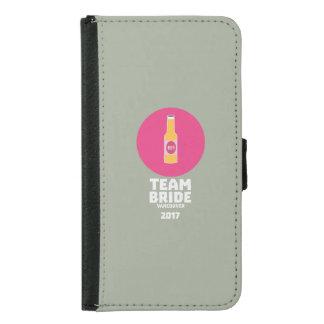 Team bride Vancouver 2017 Henparty Zkj6h Samsung Galaxy S5 Wallet Case