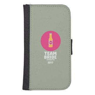 Team bride Vancouver 2017 Henparty Zkj6h Samsung S4 Wallet Case