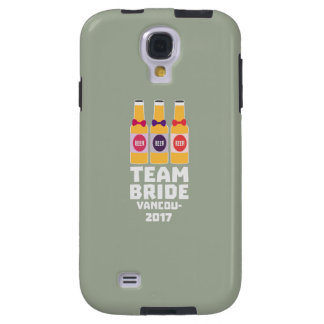 Team Bride Vancouver 2017 Z13n1 Galaxy S4 Case