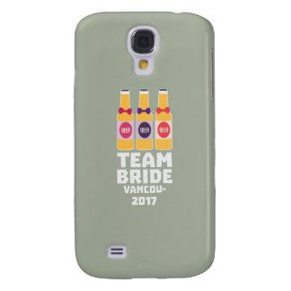 Team Bride Vancouver 2017 Z13n1 Galaxy S4 Case