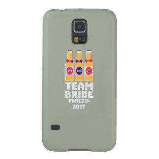 Team Bride Vancouver 2017 Z13n1 Galaxy S5 Case