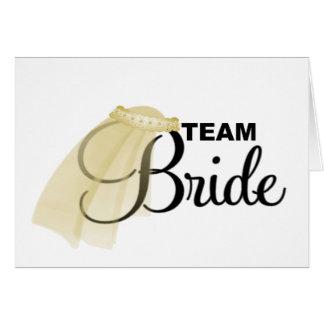 Team Bride veil Cards