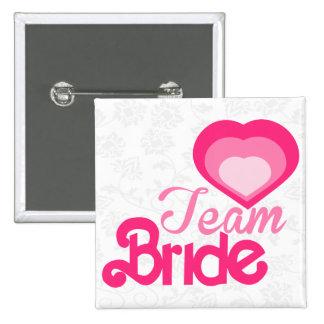 TEAM BRIDE,wedding 15 Cm Square Badge