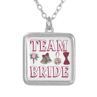 TEAM BRIDE Wedding Bridesmaid Gift Necklace