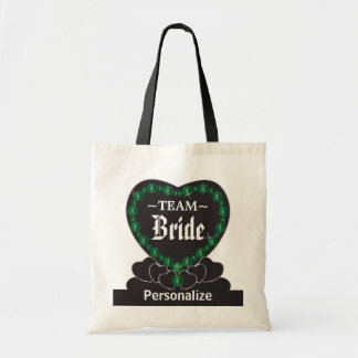 Team Bride | Wedding | Emerald Green | DIY Text