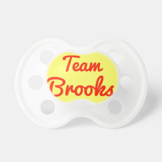 Team Brooks Pacifiers