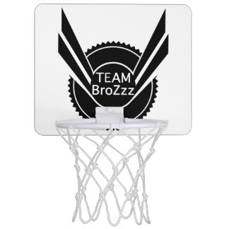 TEAM BroZzz Mini Basketball Mini Basketball Hoop