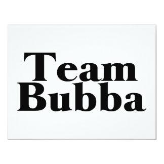 Team Bubba Personalized Invite