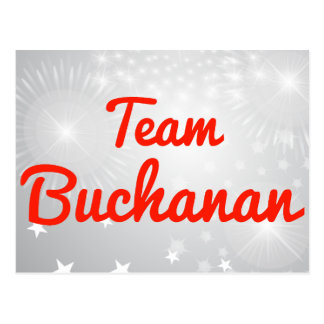 Team Buchanan Postcard