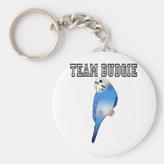 Team Budgie Key Ring