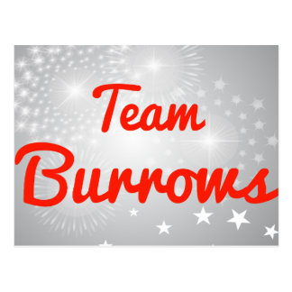 Team Burrows Post Cards