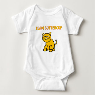 Team Buttercup Baby Bodysuit