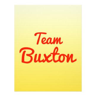 Team Buxton Custom Flyer
