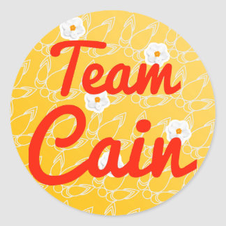 Team Cain Stickers