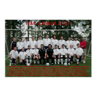 TEAM CANADA 2007 POSTER