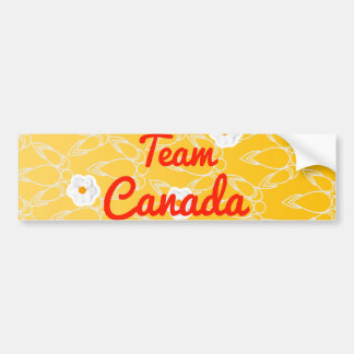 Team Canada Bumper Sticker
