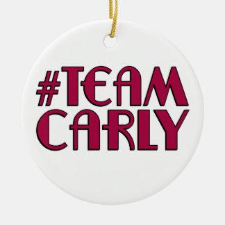 Team Carly Ornament