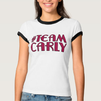Team Carly Ringer T-shirt