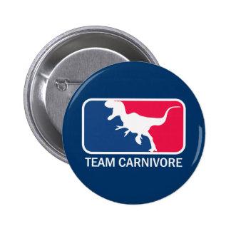 Team Carnivore Meat Lover Steak Eater 6 Cm Round Badge