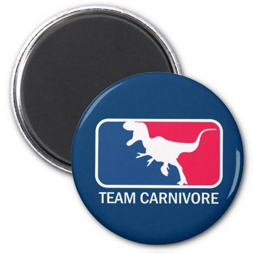 Team Carnivore Meat Lover Steak Eater Refrigerator Magnet