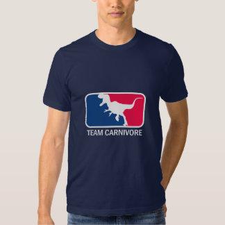 Team Carnivore Meat Lover Steak Eater T-shirt