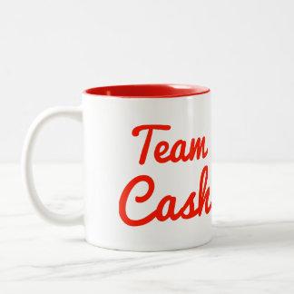 Team Cash Two-Tone Coffee Mug