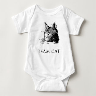 Team Cat Baby Bodysuit
