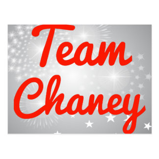 Team Chaney Postcard