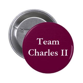 Team Charles II 6 Cm Round Badge
