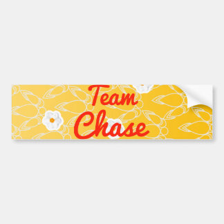 Team Chase Bumper Stickers