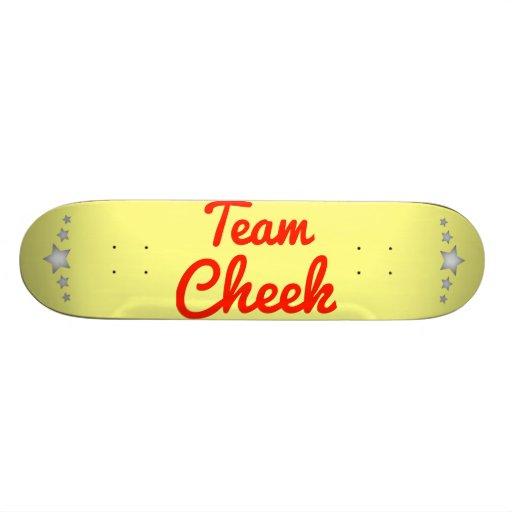 Team Cheek Skate Board Deck
