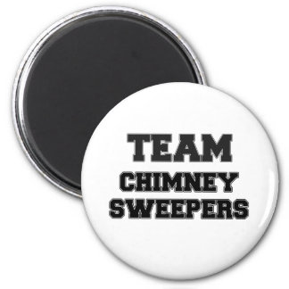 Team Chimney Sweepers 6 Cm Round Magnet
