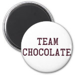 Team Chocolate 6 Cm Round Magnet