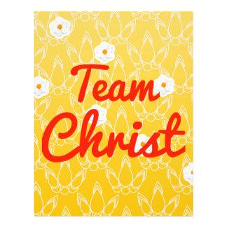 Team Christ 21.5 Cm X 28 Cm Flyer