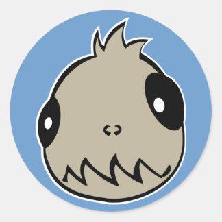 Team Chupacabra Round Sticker