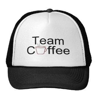 Team Coffee Mesh Hats
