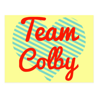 Team Colby Postcard