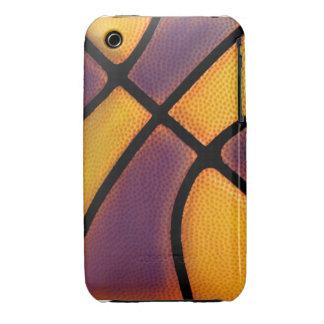 team color purple and gold basketball iphone case iPhone 3 Case-Mate case
