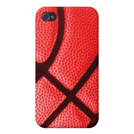 team color red basketball iphone case covers for iPhone 4