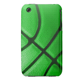 team colour green basketball iphone case iPhone 3 cases