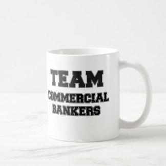 Team Commercial Bankers Basic White Mug