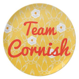 Team Cornish Dinner Plates